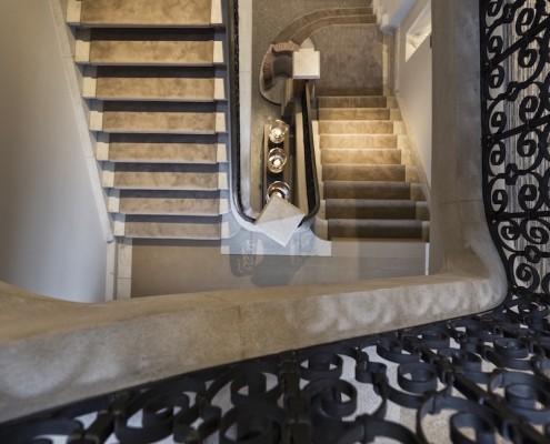 Terhills Hotel Staircase